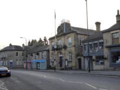 The high street at Whaley Bridge