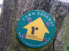 Cown Edge Way sign