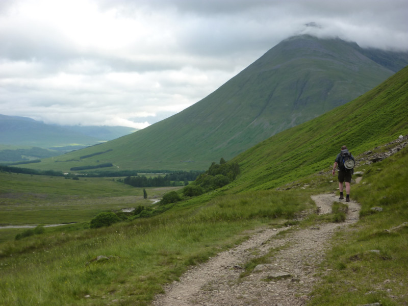 Dramatic walking on the West Highland Way