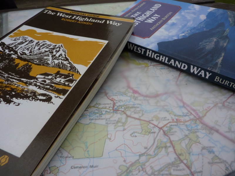 West Highland Way maps and guide books
