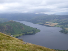 Ullswater, seen from Bonscale Pike