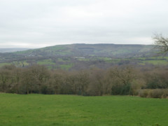 Cown Edge in the distance, seen from Werneth Low