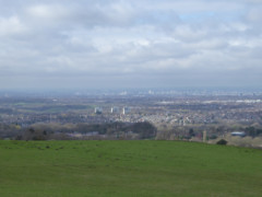 The suburbs of Manchester, seen from Werneth Low