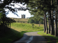The Cage, a stone building in Lyme Park
