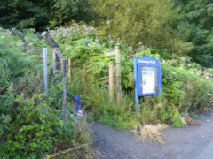 The start of the Gritstone Trail