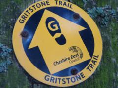 Gritstone Trail waymark
