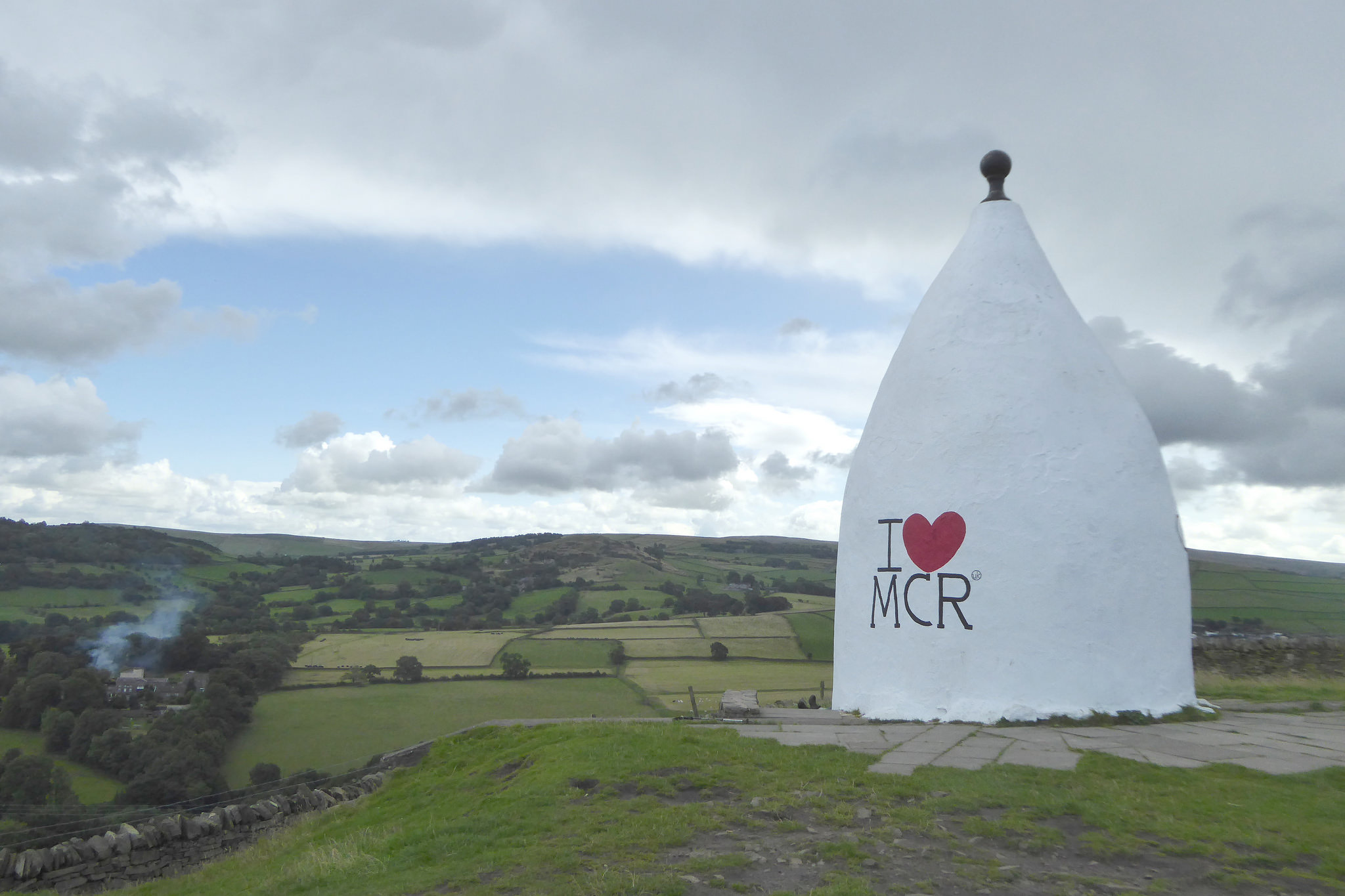 White Nancy, near Bollington