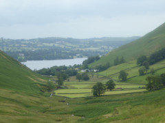 Ullswater seen from Fusedale