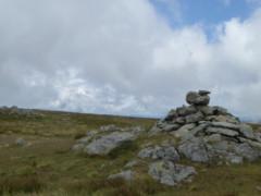 Summit cairn of Rampagill Head