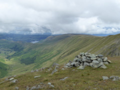 View of neighbouring fells from Rampsgill Head