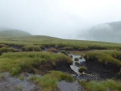 Peat haggs on The Nab