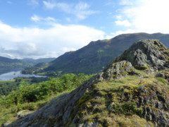 Oxford Crag, on the way up to Arnison Crag