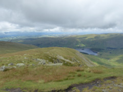 The view from the summit of Kidsty Pike