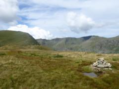 Summit cairn of Birks