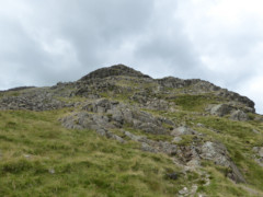 Hart Crag, seen from the path to Hartsop above How
