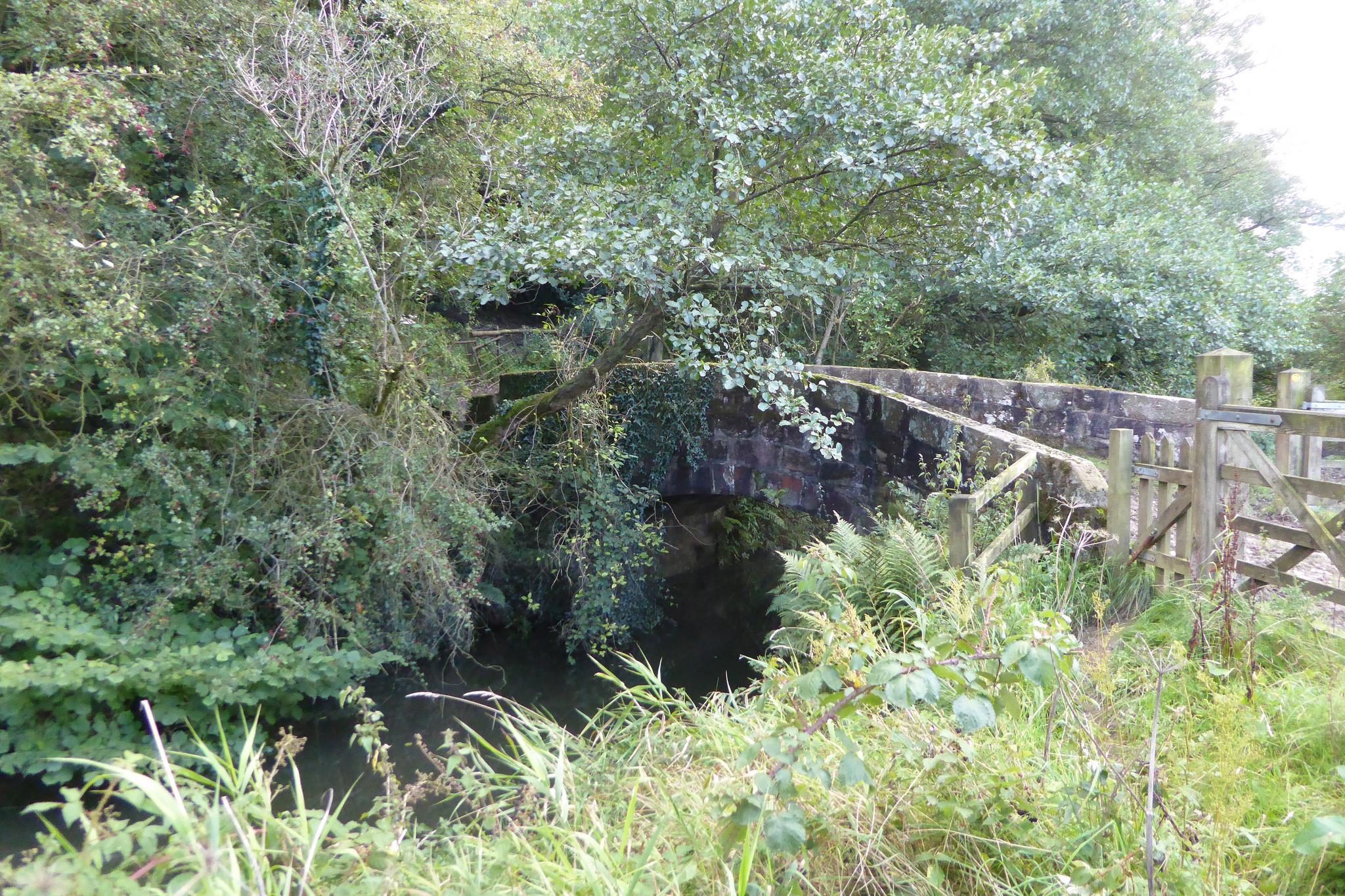 Bridge over a canal feeder