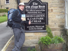 Me at the Old Nag's Head in Edale