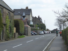 A road through Hathersage