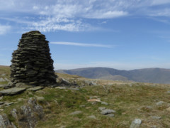 Cairn on Artle Crag, Branstree