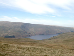 Haweswater seen from the summit of Selside Pike