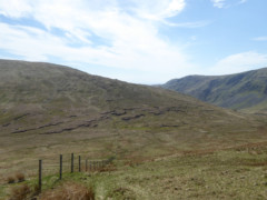 The fence of Tarn Crag