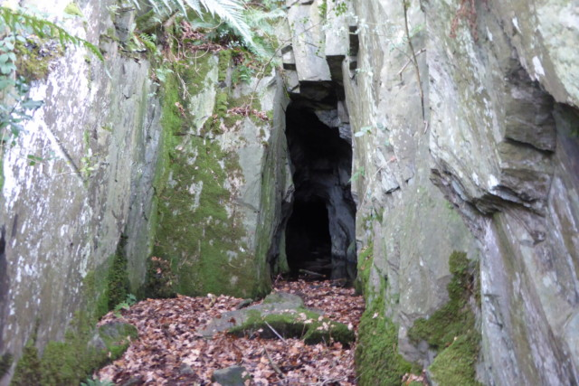 Entrance to the old levels on Castle Crag