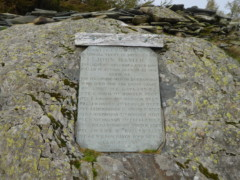 The Castle Crag War Memorial