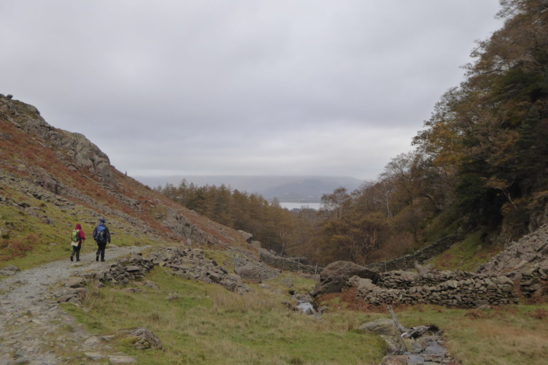 The Rigghead Road in the Lake District