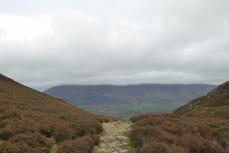 The path at Barrow Door