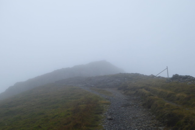 Hopegill Head in the cloud