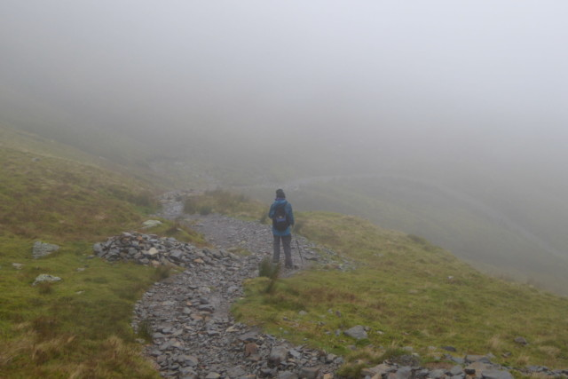 Heading down Coledale
