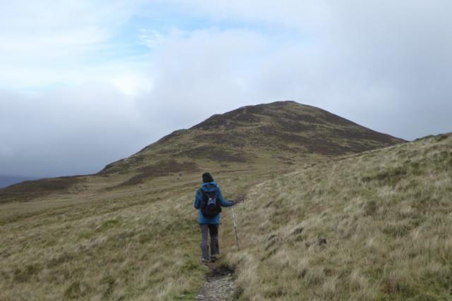 A walker walks towards Outerside