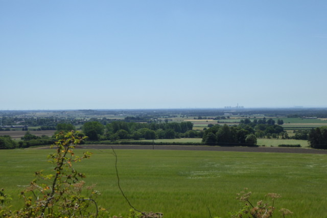 The Vale of York, seen from the Yorkshire Wolds Way