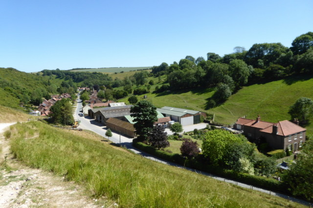 The village of Thixendale
