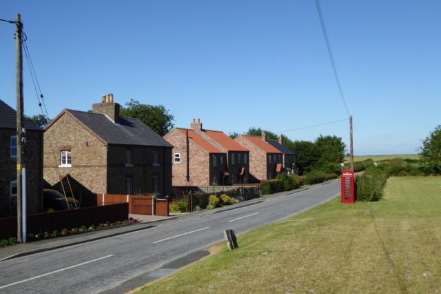 A street in the village of Wharram-le-Street