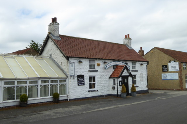 The Greyhound pub at Ganton