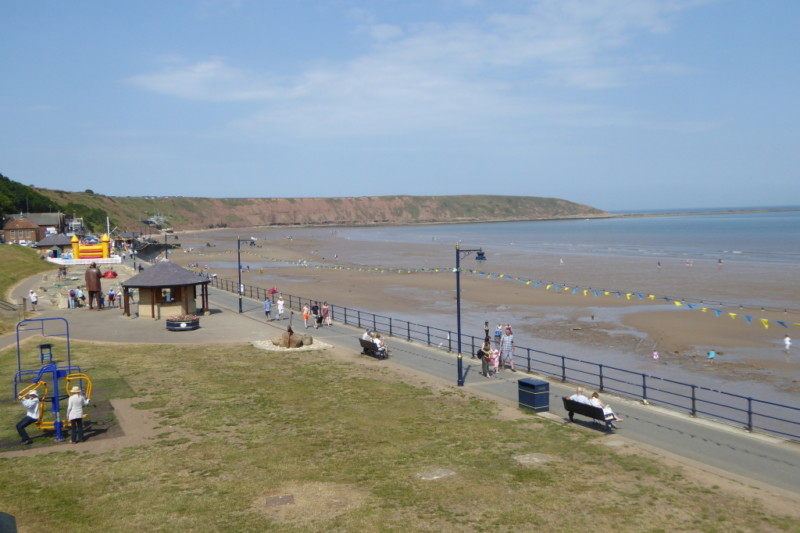 The seafront at Filey