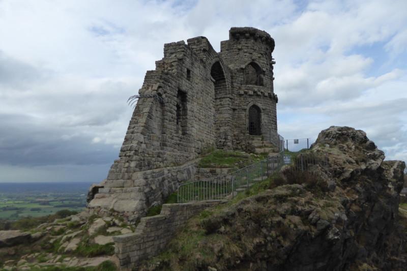 A folly called Mow Cop Castle