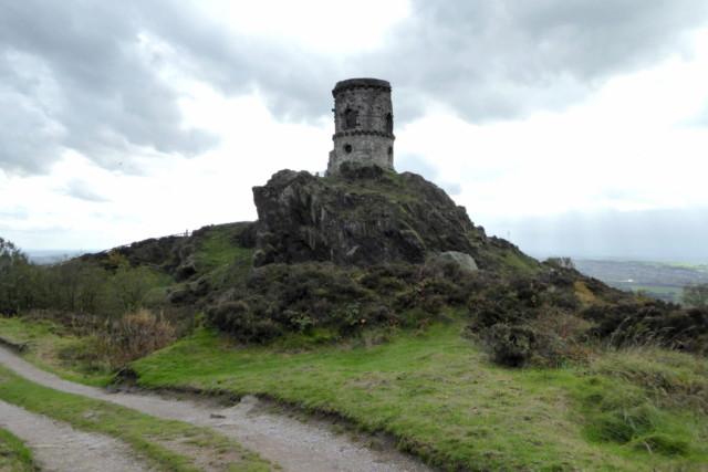 Mow Cop Castle - a folly