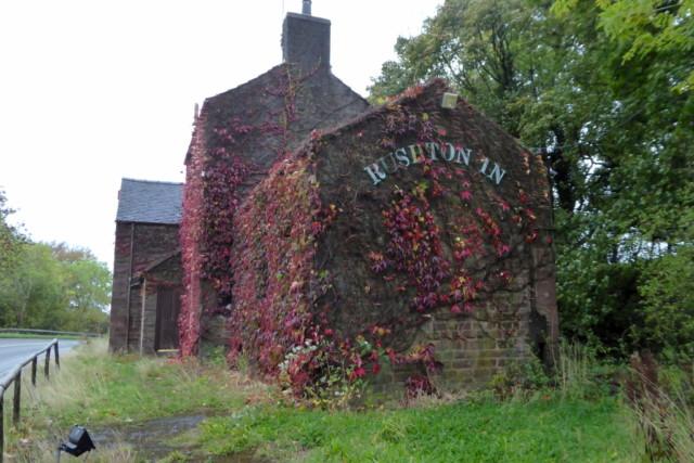 The Old Rushton Inn, Rushton Spencer
