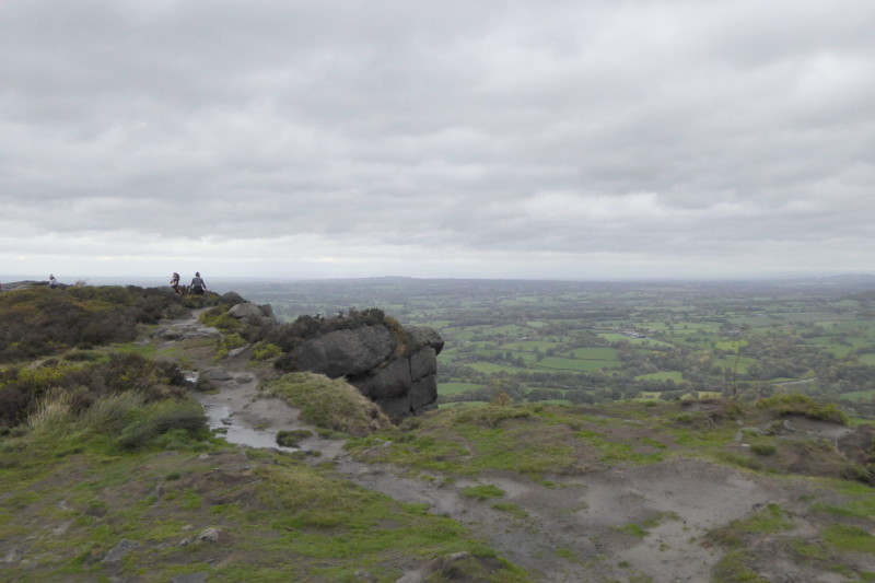 The summit of the Cloud - a hill on the Gritstone Trail