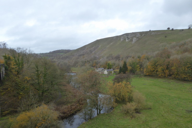 Monsal Dale, viewed from Headstone Viaduct
