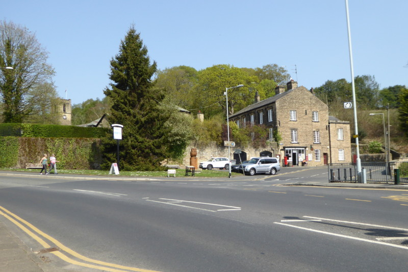 Compstall village green