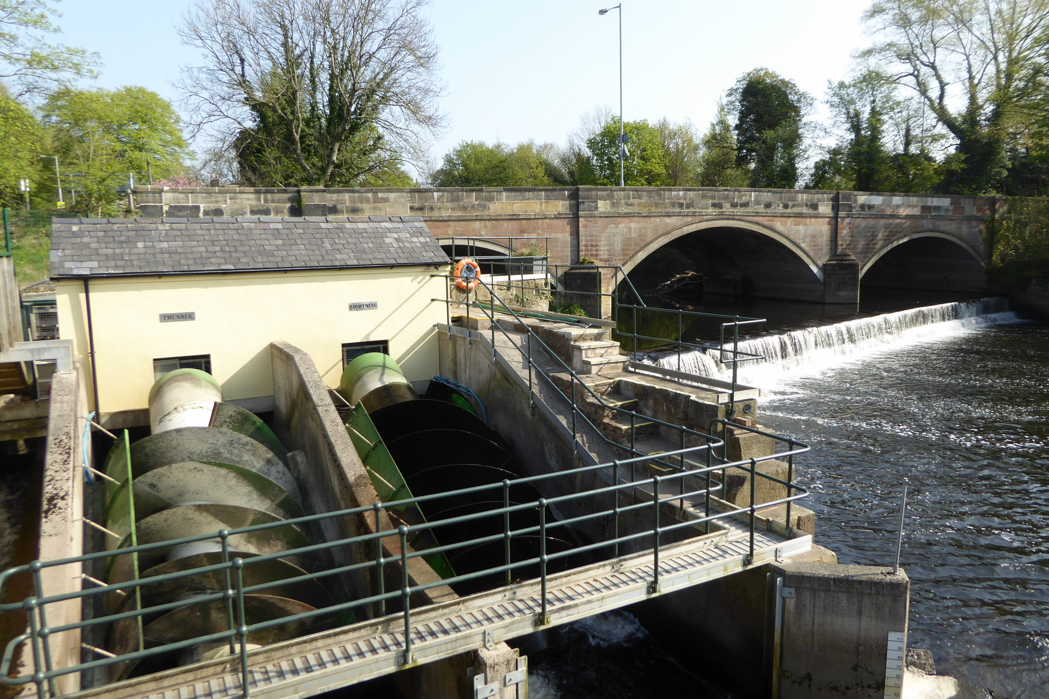 Stockport Hydro's hydroelectric turbines