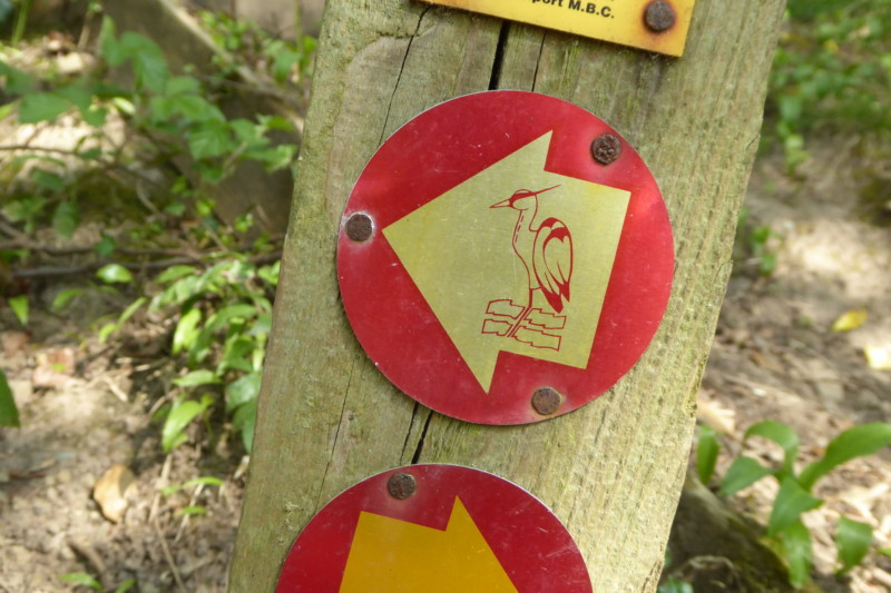 Etherow Goyt Valley Way sign