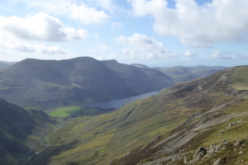 Buttermere and its surrounding fells, from Dale Head