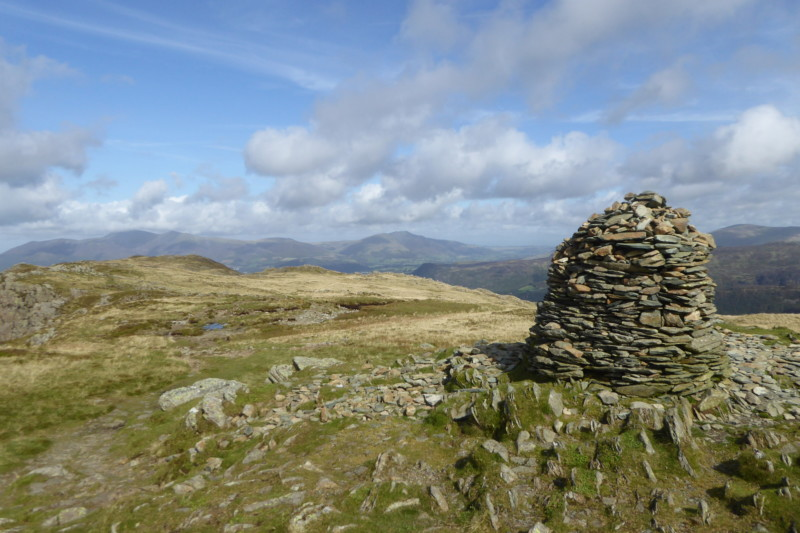 The big cairn at High Spy