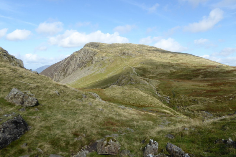 High Spy, seen from near Dalehead Tarn
