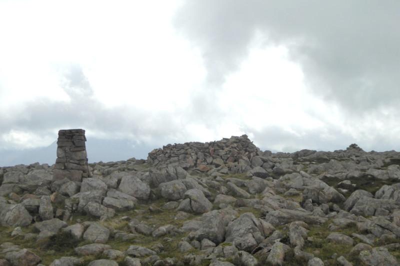 Rocky summit of Great Borne