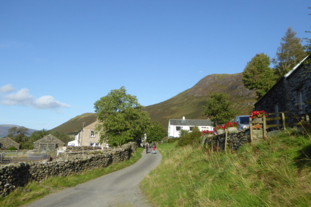 The village of Little Town in the Lake District